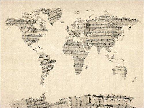 La musique peut se passer du monde mais le monde ne peut pas se passer de la musique.