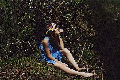 Le bonheur, il ne faut pas lui courir après, il faut le fabriquer soi même. Voilà le secret.
