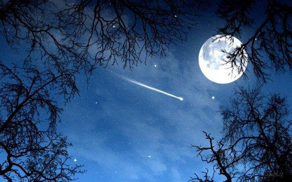 Mon père disait que lorsque l'on voit une étoile filante c'est une âme qui s'envole au paradis.