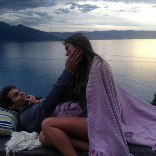 Tu sens le paradis. J'ai dormi de ton côté du lit, car l'oreiller avait ton odeur.
