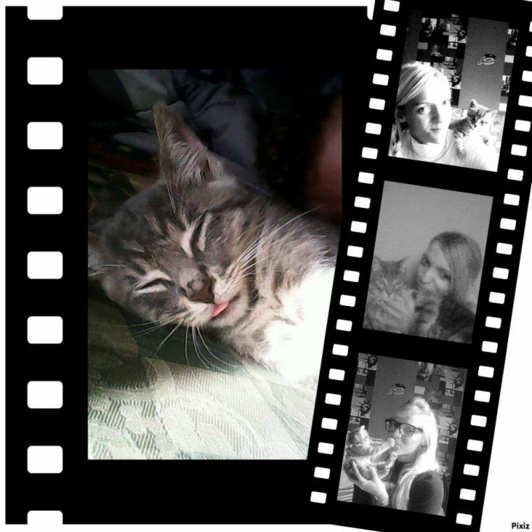Mon chaton ! et moi même ;)