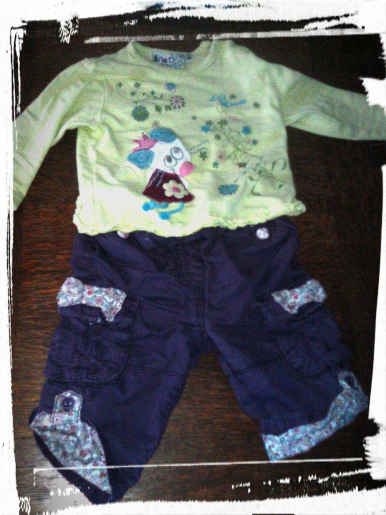 la tenue de mon bébé d'amour <3