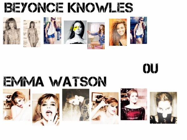 Emma 0u Beyonce ?