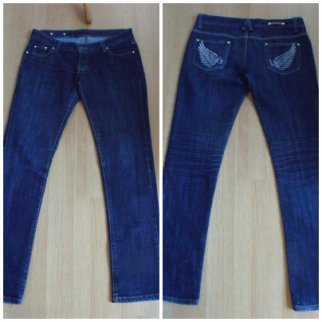 Jeans slim taille 42 (petit 40)