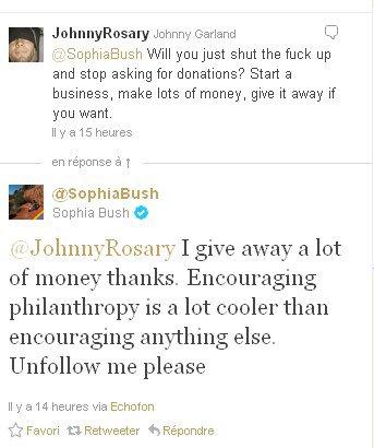 SOPHIA BUSH .