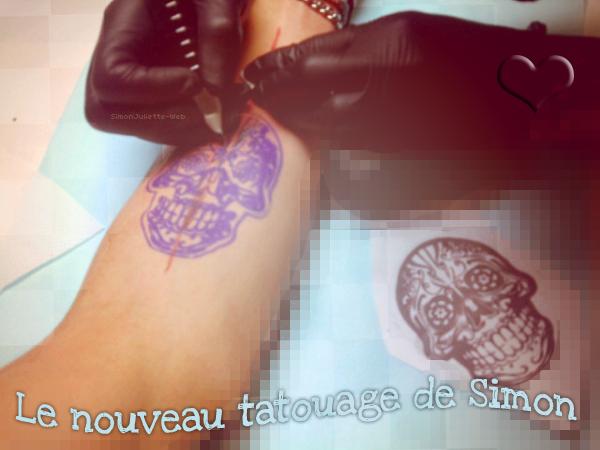 SIMONJULIETTE-WEB ~ FanBlog consacré au couple Simon & Juliette ; Article 74 ; Le Nouveau Tatouage de Simon