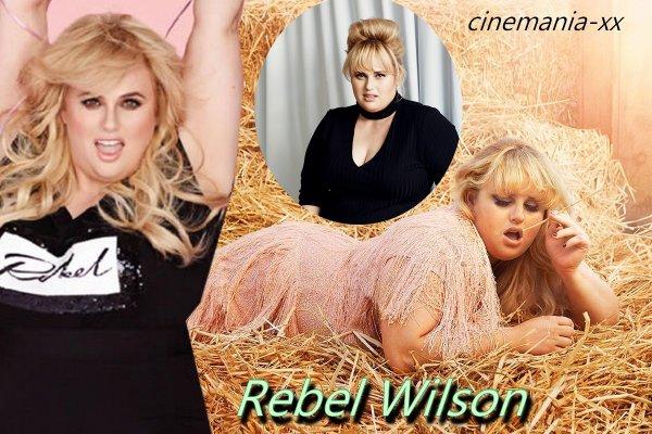 mini bio : Rebel Wilson