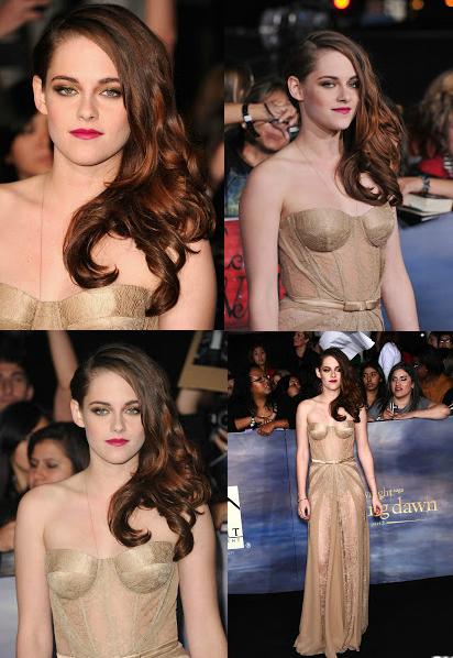 Kristen Stewart pour Twilight breaking Dawn part 2