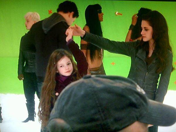 Pendant le tournage !! :)