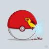 Pikachu avec le Chidori :3