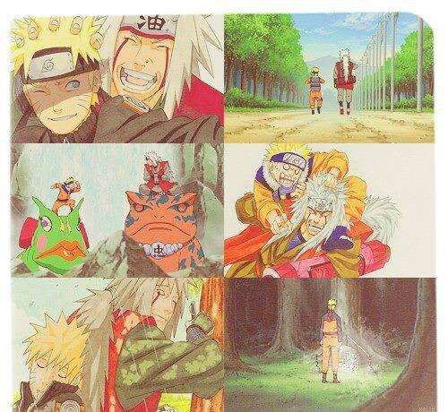 Jiraya & Naruto :'(