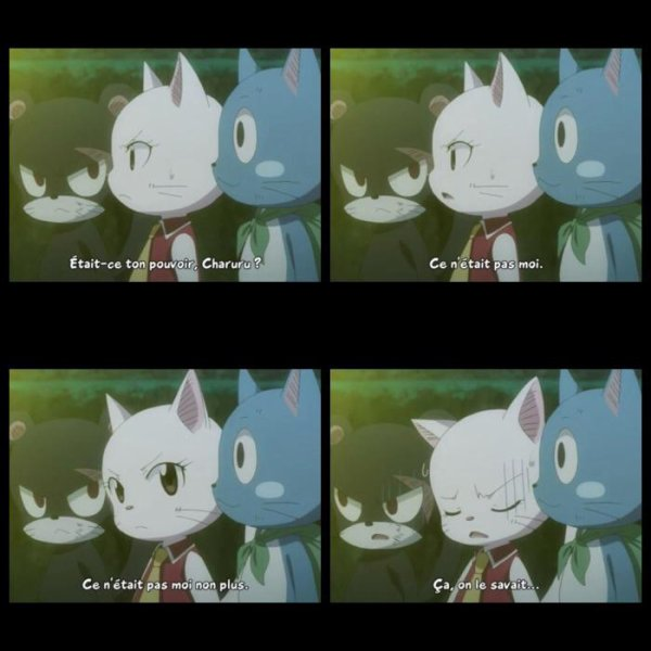 Ce moment marrant dans Fairy Tail xD