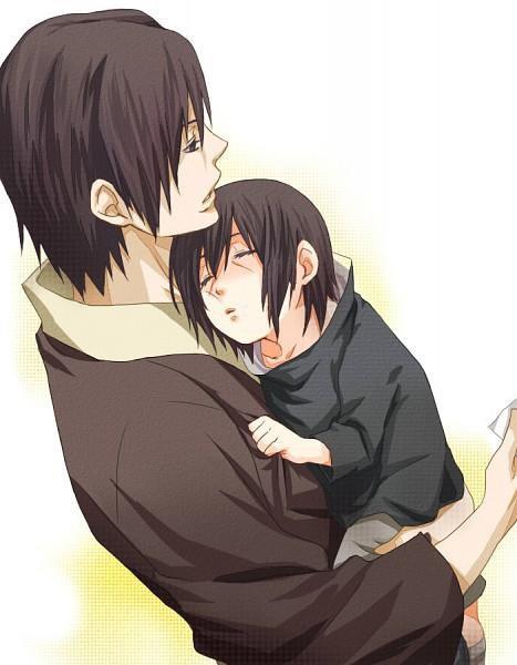 Itachi & son père :3