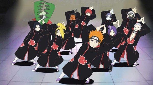 Akatsuki dance x)