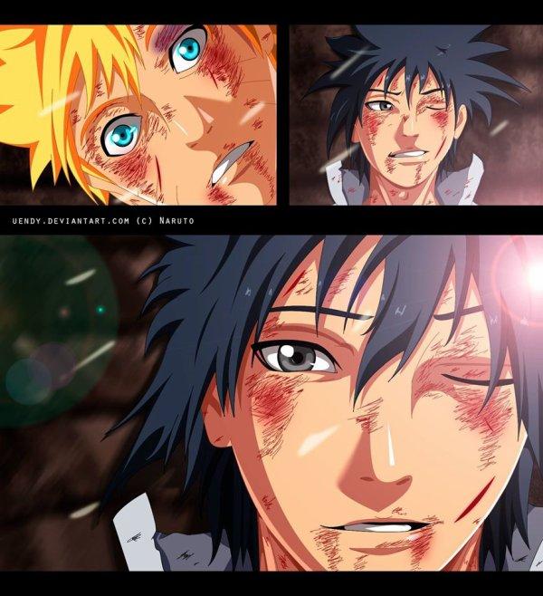 Sasuke smille :)