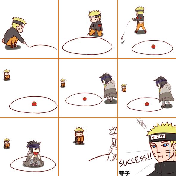 Bien joué Naruto xD
