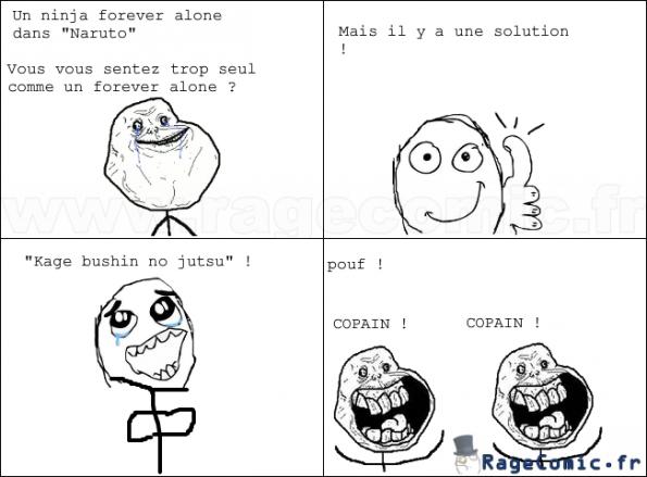Quand on est seul... xD