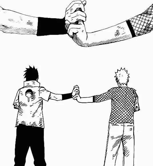 Sasuke & Naruto amis