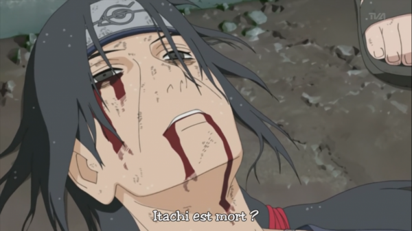 Itachi death :'(