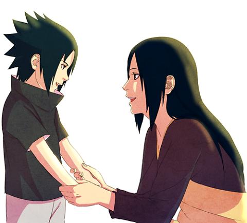 Sasuke et Mikoto
