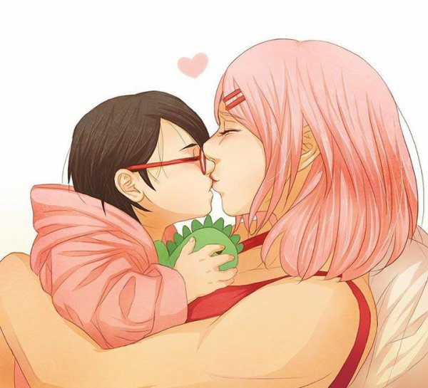 Sakura & Sarada <3 :3