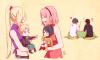 Sakura et Ino maman :3 <3