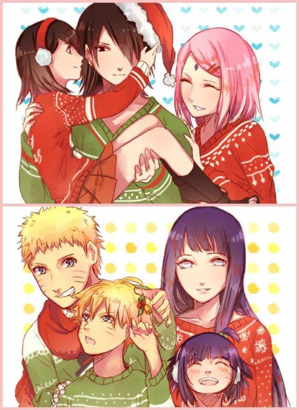 Nouvelle famille Uchiha et Uzumaki <3 :3