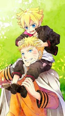 Boruto et Naruto <3 :3
