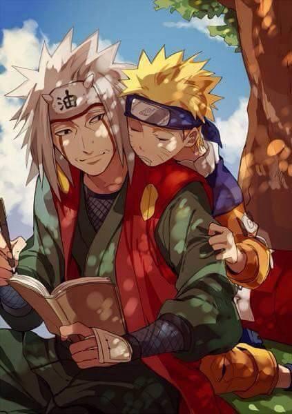 Naruto & Jiraya <3 :3