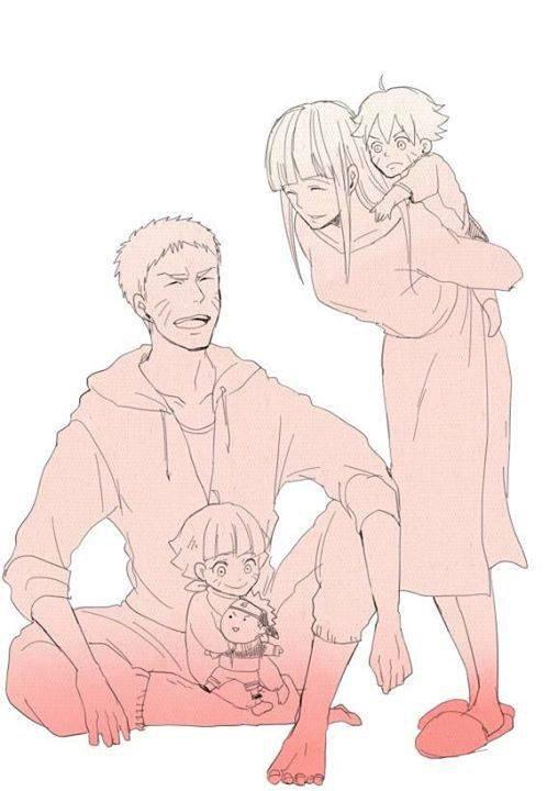 Famille Uzumaki <3 :3