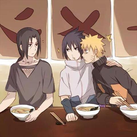 SasNaru & Itachi :')