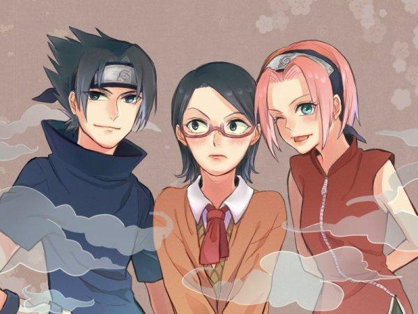 Sasuke, Sakura & Sarada