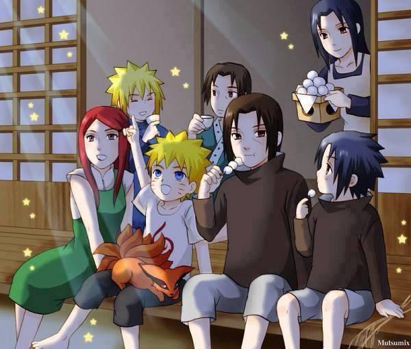 Famille Uchiha et Uzumaki <3 :3