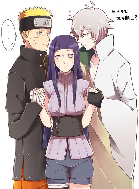 Naruto, Hinata & Toneri <3 :3