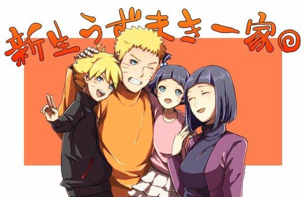Famille Uzumaki :3 <3