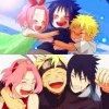 Naruto, Sasuke & Sakura <3 :3