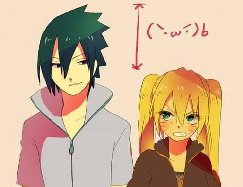 Sasuke et Naruko <3 :3