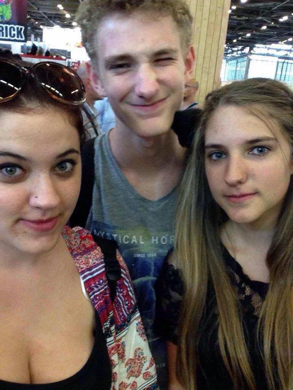 Ma soeur, mon frère et moi
