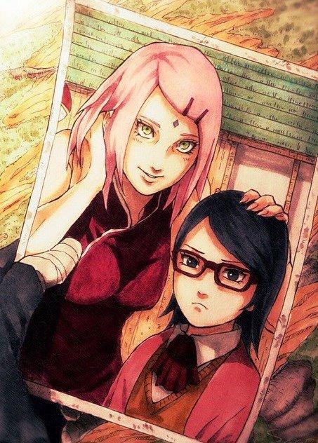 Sakura & Sarada photo