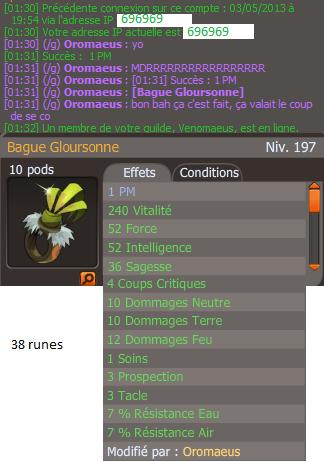 #5 Bague glours PM
