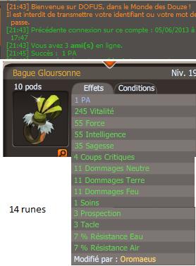 #10 Bague Gloursonne PA
