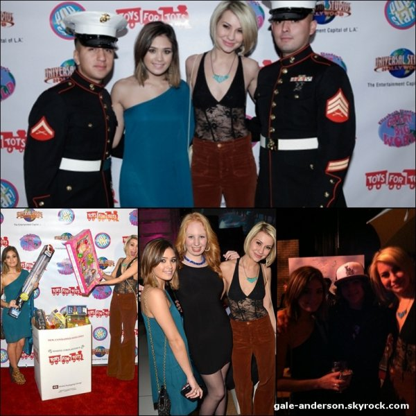 18 décembre 2011: Nicole était présente à l'anniversaire d'Elizabeth Stanton qui fêtait ses 16 ans.