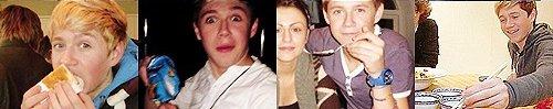""""""" Lorsque Niall commence à parler, personne ne peut l'arrêter sauf si vous lui donner de la nouriture..."""" - Louis."""