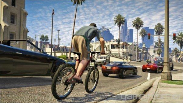 Des vélos en ville