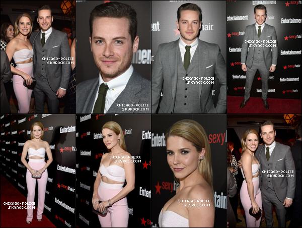 """. S. et J. à la """"Entertainment Weekly's SAG Awards Nominees Party"""" à LA, le 24 janvier. ."""