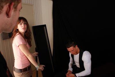 Dans le tournage des foto