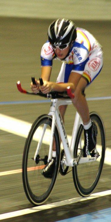 Mercredi 01/02/2012 Championnat de Belgique poursuite par équipe / Team sprint