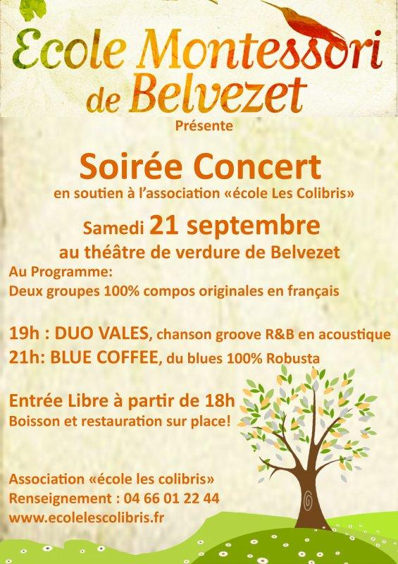 Concert samedi 21 Septembre