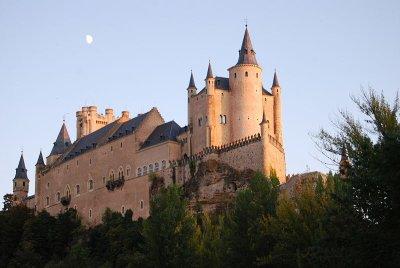 Espagne/Alcazar de ségovie