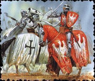 Les Forces a la veille de Tannenberg ( 14 Juillet 1410)